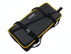 PRP Seats E11-H - Low Profile Tool Bag Black With Yellow Piping Vinyl Coated Nylon PRP Seats