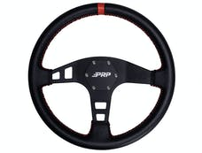 PRP Seats G113 - Deep Dish Leather Steering Wheel Red PRP Seats