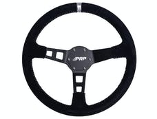 PRP Seats G122 - Deep Dish Suede Steering Wheel Silver PRP Seats
