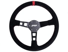PRP Seats G123 - Deep Dish Suede Steering Wheel, Red PRP Seats