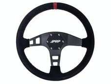 PRP Seats G223 - Flat Suede Steering Wheel Red PRP Seats