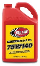 Red Line Oil 57915 Full Synthetic 75W140 GL-5 Gear Oil (1 gal, 4pk)