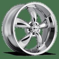 REV Wheels 100C-6706535 - Classic 16X7 5X114.3 +35M 22 Lbs Chrome Aluminum Wheels 100 Classic Series REV Wheels