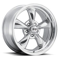 REV Wheels 100P-5606100 - Classic 15X6 5X120.65 +0MM 18 Lbs Polished Aluminum Wheels 100 Classic Series REV Wheels