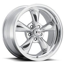 REV Wheels 100P-5606500 - Classic 15X6 5X114.3 +0MM 18 Lbs Polished Aluminum Wheels 100 Classic Series REV Wheels