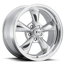 REV Wheels 100P-5707300 - Classic 15X7 5X127 +0MM 19 Lbs Polished Aluminum Wheels 100 Classic Series REV Wheels