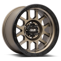 REV Wheels 883A-2907312 - REV Off Road 883 Series Beadlock 20x9 5x127 -12MM Matte Bronze REV Wheel