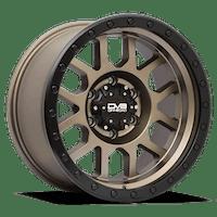 REV Wheels 883A-7908300 - REV Off Road 883 Series Beadlock 17x9 6x139.7 +0MM Matte Bronze REV Wheel