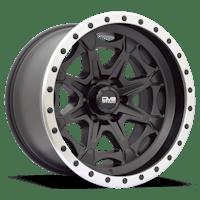 REV Wheels 886B-2128344 - REV Off Road 886 Series Beadlock 20x12 6x139.7 -44MM Matte Black REV Wheel