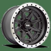 REV Wheels 886B-7908312 - REV Off Road 886 Series Beadlock 17x9 6x139.7 -12MM Matte Black  REV Wheel