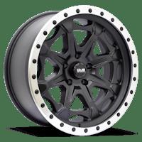 REV Wheels 886B-2907312 - REV Off Road 886 Series Beadlock 20x9 5x5 -12MM Matte Black  REV Wheel