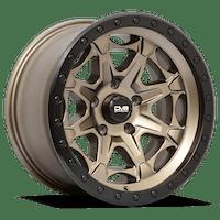 REV Wheels 886A-2907312 - REV Off Road 886 Series Beadlock 20x9 5x5 -12MM Matte Bronze REV Wheel