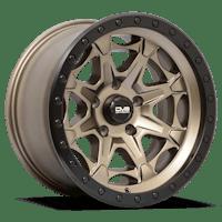 REV Wheels 886A-7907312 - REV Off Road 886 Series Beadlock 17x9 5x127 -12MM Matte Bronze REV Wheel