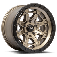 REV Wheels 886A-7908312 - REV Off Road 886 Series Beadlock 17x9 6x139.7 -12MM Matte Bronze  REV Wheel