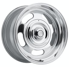 REV Wheels 107P-8900600 - 107 Classic 18X9 5X120.65 / 5X127 0MM Polished 28 Lbs Polished Aluminum Wheels 107 Classic Series REV Wheels