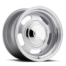 REV Wheels 107S-2950600 - 107 Classic Rally 20X9.5 5X120.7/5X127 +0MM 42 Lbs Silver/Trim Ring Aluminum Wheels 107 Classic Rally Series REV Wheels