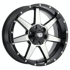 REV Wheels 875M-7908312 - 875 REV 17X9 6X139.7 -12MM Matte Black Milled Aluminum Wheels 875 Offroad REV Series REV Wheels