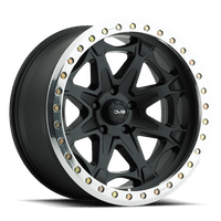 REV Wheels 882B-7857300 - 882 Beadlock 17X8.5 5X127 +0MM 40 Lbs Matte Black Aluminum Wheels 882 Offroad Beadlock Series REV Wheels