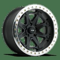 REV Wheels 882B-7857320 - 882 Beadlock 17X8.5 5X127 -20MM 40 Lbs Matte Black Aluminum Wheels 882 Offroad Beadlock Series REV Wheels