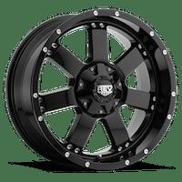 REV Wheels 885B-2903512 - 885 REV 20X9 6X135/6X139.7 -12MM Gloss Black 39 Lbs Gloss Black Aluminum Wheels 885 Offroad REV Series REV Wheels