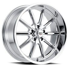REV Wheels 110C-2806100 - 110 Classic Icon Series 20x8 5x120.65 00MM Chrome REV Wheel