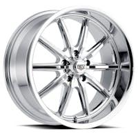 REV Wheels 110C-2807300 - 110 Classic Icon Series 20x8 5x127 00MM Chrome REV Wheel