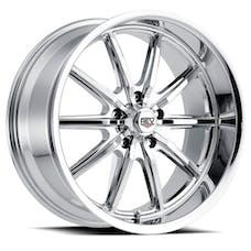 REV Wheels 110C-7706100 - 110 Classic Icon Series 17x7 5x120.65 0MM Chrome REV Wheel