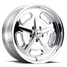 REV Wheels 111C-2957300 - 111 Classic Salt Flat Series 20x9.5 5x127 +0MM Chrome REV Wheel