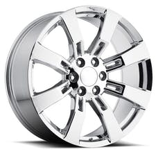 REV Wheels 582C-2298328 - OE Replica 582 Series 22x9 6x139.7 +28MM Chrome REV Wheel
