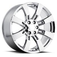 REV Wheels 582C-2908328 - OE Replica 582 Series 20x9 6x139.7 +28MM Chrome REV Wheel