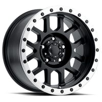 REV Wheels 883B-7907312 - REV Off Road 883 Series Beadlock 17x9 5x127 -12MM Matte Black REV Wheel