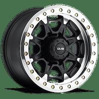 REV Wheels 882B-7858112 - 882 Beadlock 17X8.5 8X165.10 -12MM 40 Lbs Matte Black Aluminum Wheels 882 Offroad Beadlock Series REV Wheels