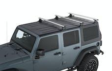 RHINO-RACK JA6389 - Vortex 3-Bar Backbone Roof Rack for 07-18 Jeep Wrangler Unlimited JK Hardtop - SILVER