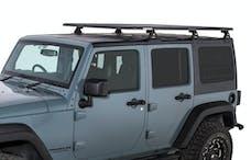 "RHINO-RACK JA8213 - Rhino-Rack 72"" x 56"" Pioneer Platform with Backbone System and Quick Mount Legs for 07-18 Jeep Wrangler Unlimited JK Hardtop - UNASSEMBLED"