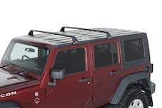 RHINO-RACK SG59 - Gutter-Mount Vortex 2-Bar Roof Rack for 07-19 Wrangler Unlimited JK & JL