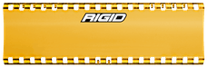 "RIGID Industries 105863 SR-Series Light Cover 6"" Amber"