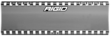 "RIGID Industries 105913 SR-Series Light Cover 6"" Smoke"