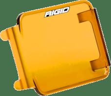 RIGID Industries 201933 D-Series Light Cover, Amber