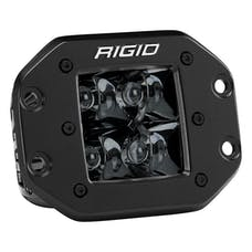 RIGID Industries 211213BLK D-Series PRO Flush Mount Spot Light, Midnight