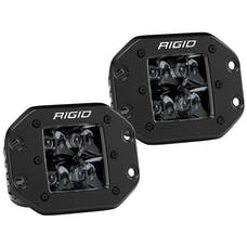 RIGID Industries 212213BLK D-Series PRO Flush Mount Spot Light, Midnight