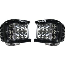 RIGID Industries 262313 Dually Side Shooter PRO LED Driving Light, Surface Mount