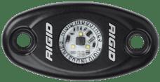 RIGID Industries 480103 A-Series LED Light, Black-High Strength Red