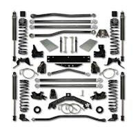 Rock Krawler JK35X2LA-2S1 Jeep Wrangler JK 3.5 Inch X Factor X2 Series Long Arm System - Stage 1