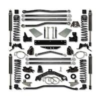 Rock Krawler JK35X2LA-6S1 Jeep Wrangler JK 3.5 Inch X Factor X2 Series Long Arm System w/ 6 Inch Rear Stretch - Stage 1