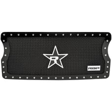 "Rolling Big Power RBP-258484 - RX-5 ""HALO"" Series Studded Frame Grille-Black-1-Piece"