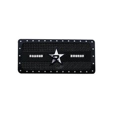 "Rolling Big Power RBP-967483 - RX-3 LED ""Midnight Edition"" Single Row Black Studded Frame Grille (includes LED Lights)"