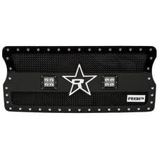 "Rolling Big Power RBP-967484 - RX-3 LED ""Midnight Edition"" Single Row Black Studded Frame Grille (includes LED Lights)"