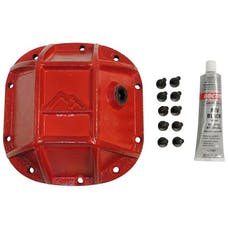 RT Offroad RT20024 Heavy Duty Dana 30 Differential Cover for Jeep Models w/ D30 Axle; Red