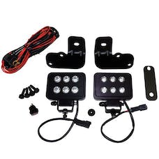 RT Offroad RT28032 LED Block Lamp Kit for 2007-2018 Jeep JK Wrangler, Made in the USA