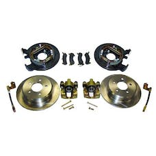 RT Offroad RT31007 Disc Brake Conversion Kit for 91-06 Jeep TJ, YJ, ZJ, XJ w/ D35 Rear Axle w/o ABS